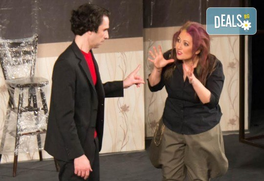 Щура комедия с Милица Гладнишка! Гледайте Брачни безумия на 11.10. от 19ч. в Театър Сълза и Смях, билет за един - Снимка 11