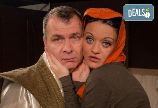 Щура комедия с Милица Гладнишка! Гледайте Брачни безумия на 11.10. от 19ч. в Театър Сълза и Смях, билет за един - Снимка 2