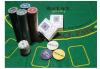 Покер комплект с 200 професионални чипа, 2 тестета карти и покривка за Blackjack от Podobro.com! - thumb 3