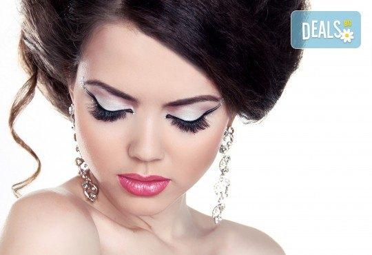 Красив поглед! Поставяне на диамантени мигли по метода косъм по косъм в студио Mateya Art! - Снимка 2