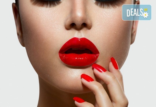 Безиглено влагане на хиалуронова киселина за попълване на бръчки на челото или за уголемяване на устни във Flying Butterfly Beauty Studio! - Снимка 3