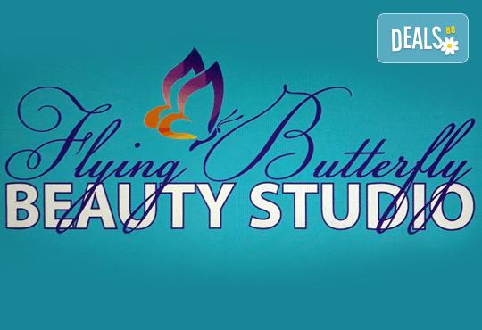 Безиглено влагане на хиалуронова киселина за попълване на бръчки на челото или за уголемяване на устни във Flying Butterfly Beauty Studio! - Снимка 4