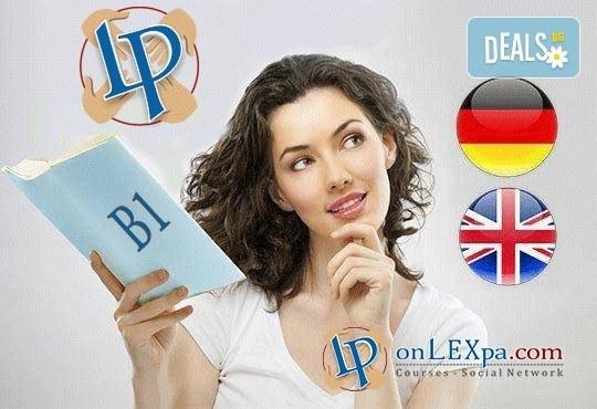 Запишете се на online курс поанглийски език (ниво B1) или немски език (ниво B1) от onlexpa.com - Снимка 1