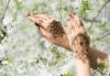 Почитатели сте на татуировките? Временна татуировка с аерограф с боя или блестяща татуировка с глитър в Соларно студио Какао! - thumb 1
