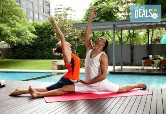 Хармония за тялото и ума! 2 или 4 посещения на йога с д-р Аман Суд в Sofia International Music & Dance Academy! - Снимка 6