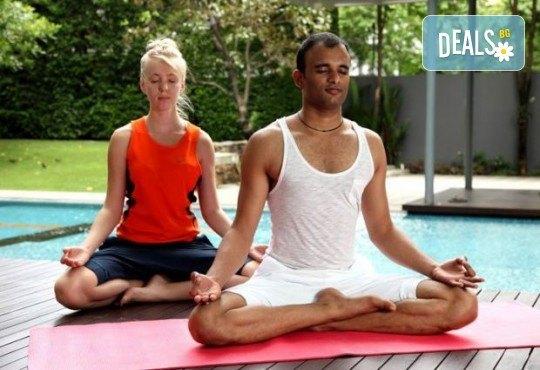 Хармония за тялото и ума! 2 или 4 посещения на йога с д-р Аман Суд в Sofia International Music & Dance Academy! - Снимка 5