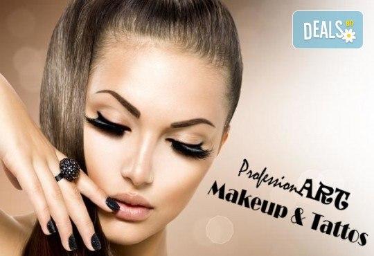 Блестящ поглед! Поставяне на диамантени мигли по метода косъм по косъм в Соларно студио Какао! - Снимка 1