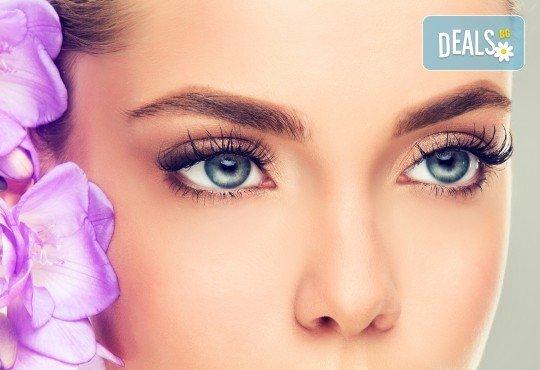 Поглед като от реклама! Удължаване и сгъстяване чрез 2D, 3D или 4D мигли от норка или коприна в NSB Beauty Center! - Снимка 3