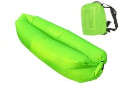 Голям надуваем шезлонг в зелено или оранжево + чанта за транспортиране от Магнифико! - Снимка