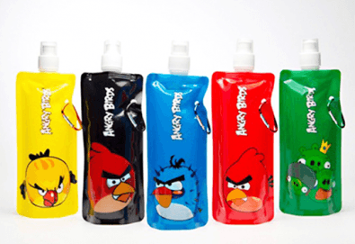 Удобно, леко и изгодно! Еко шише за вода Vapur Bottle с Angry birds от Магнифико! - Снимка