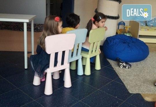 Седмичен целодневен престой за деца от 2 до 6г. с много игри и уроци по английски език в частна детска градина В парка! - Снимка 11