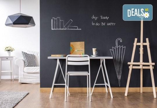 Мандала комплект за релаксация чрез оцветяване за деца! 4 бр. мандали, размер 30х30см, комплект цветни моливи и стилна рамка за стена - Снимка 8