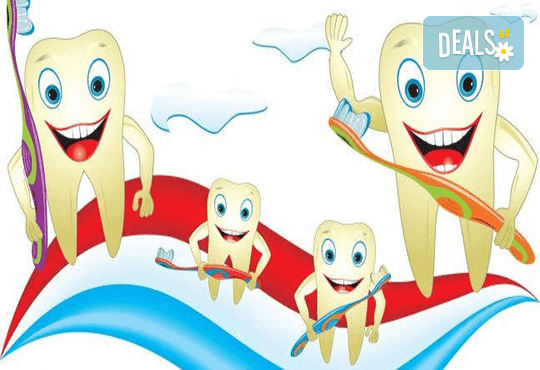 Фотополимерна пломба, преглед, план на лечение и почистване на зъбен камък в Дентален кабинет д-р Маринашева - Снимка 3