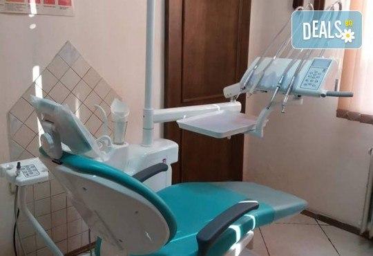 Почистване на зъбен камък и зъбна плака с ултразвук и полиране + бонус: 20 % отстъпка в ДК д-р Маринашева - Снимка 4