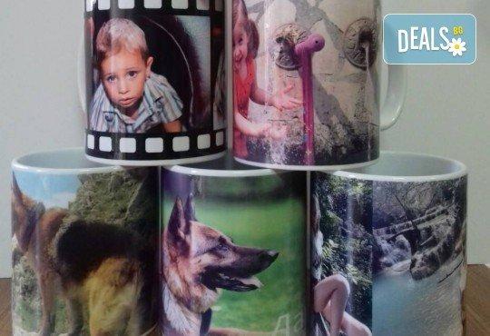 Оригинален подарък за всякакъв повод! Забавна чаша с дизайн по Ваша идея от Онлайн магазин Тениска.бг! - Снимка 6