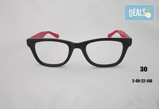 Очила с антирефлексно, хидрофобно и антистатично покритие, с диоптер или без, рамка и стъкла по избор от Vision Class Optic! - Снимка 31