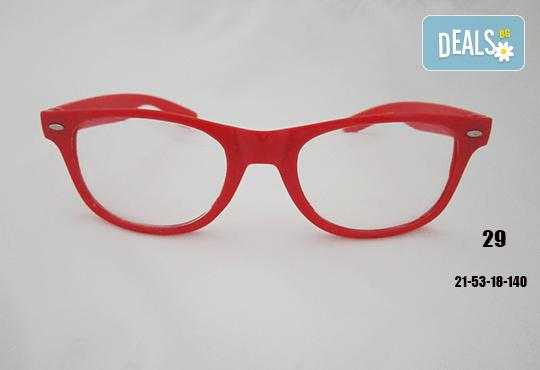 Очила с антирефлексно, хидрофобно и антистатично покритие, с диоптер или без, рамка и стъкла по избор от Vision Class Optic! - Снимка 30