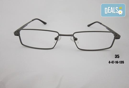 Очила с антирефлексно, хидрофобно и антистатично покритие, с диоптер или без, рамка и стъкла по избор от Vision Class Optic! - Снимка 36