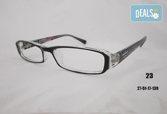 Очила с антирефлексно, хидрофобно и антистатично покритие, с диоптер или без, рамка и стъкла по избор от Vision Class Optic! - Снимка 25