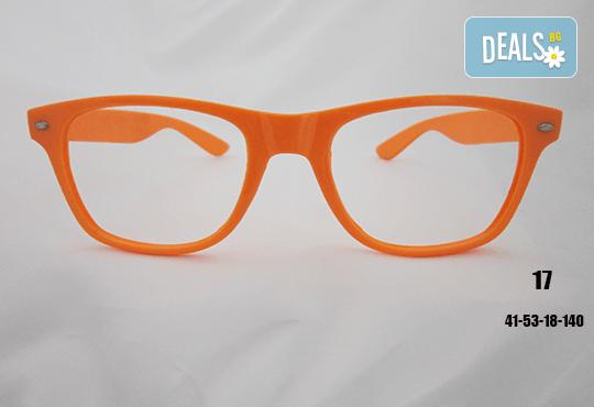 Очила с антирефлексно, хидрофобно и антистатично покритие, с диоптер или без, рамка и стъкла по избор от Vision Class Optic! - Снимка 18