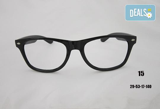 Очила с антирефлексно, хидрофобно и антистатично покритие, с диоптер или без, рамка и стъкла по избор от Vision Class Optic! - Снимка 16