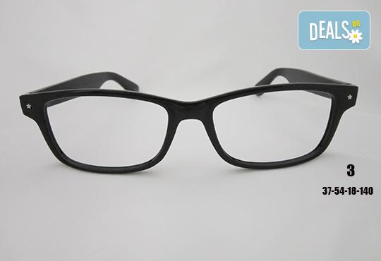 Очила с антирефлексно, хидрофобно и антистатично покритие, с диоптер или без, рамка и стъкла по избор от Vision Class Optic! - Снимка 4