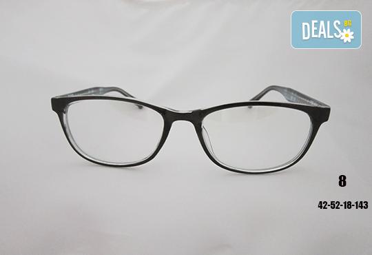 Очила с антирефлексно, хидрофобно и антистатично покритие, с диоптер или без, рамка и стъкла по избор от Vision Class Optic! - Снимка 9