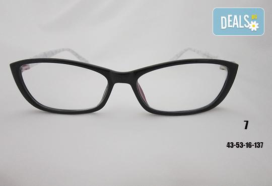 Очила с антирефлексно, хидрофобно и антистатично покритие, с диоптер или без, рамка и стъкла по избор от Vision Class Optic! - Снимка 8