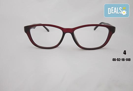 Очила с антирефлексно, хидрофобно и антистатично покритие, с диоптер или без, рамка и стъкла по избор от Vision Class Optic! - Снимка 5