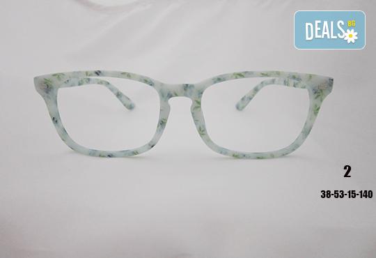 Очила с антирефлексно, хидрофобно и антистатично покритие, с диоптер или без, рамка и стъкла по избор от Vision Class Optic! - Снимка 3