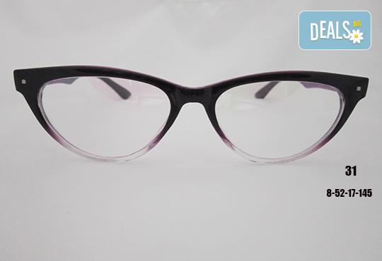 Очила с антирефлексно, хидрофобно и антистатично покритие, с диоптер или без, рамка и стъкла по избор от Vision Class Optic! - Снимка 32