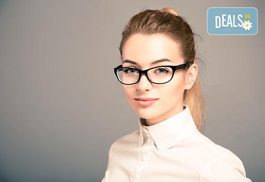 Очила с антирефлексно, хидрофобно и антистатично покритие, с диоптер или без, рамка и стъкла по избор от Vision Class Optic! - Снимка 1