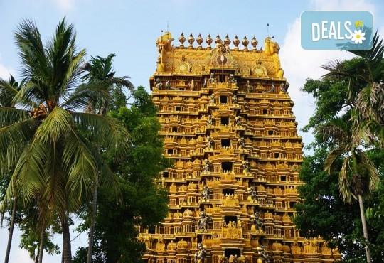 Екскурзия в Шри Ланка: 7 нощувки на база Закуска и вечеря, самолетен билет и екскурзии