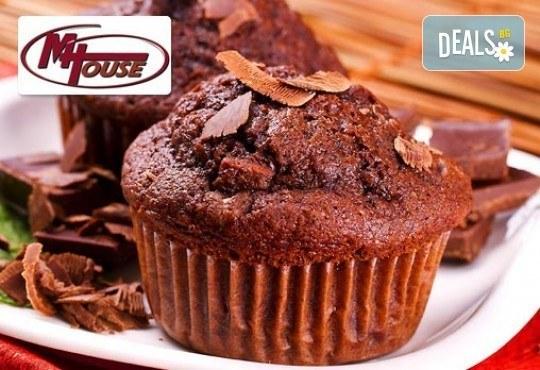 Сладко изкушение от Muffin House! 50 или 100 броя мини мъфин - микс от видове с превъзходен вкус - Снимка 4