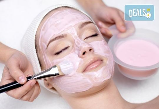 Комбинирана услуга за лице и ръце! Почистване на лице, масаж и маска според типа кожа и маникюр с гел лак в студио за красота Galina! - Снимка 2