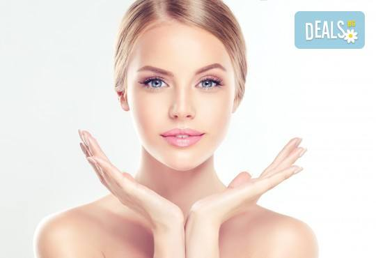 Комбинирана услуга за лице и ръце! Почистване на лице, масаж и маска според типа кожа и маникюр с гел лак в студио за красота Galina! - Снимка 1