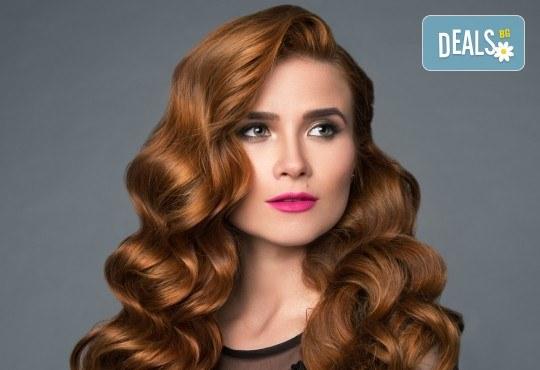 Официална прическа с модерен дизайн по избор при стилист на Салон за красота B Beauty! - Снимка 1