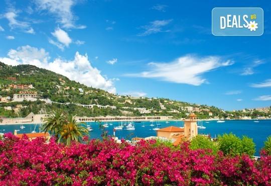 Самолетна екскурзия до Ница, Лазурния бряг, Франция, със Z Tour! 3 нощувки със закуски в хотел 3*, самолетен билет, летищни такси, застраховка - Снимка 5