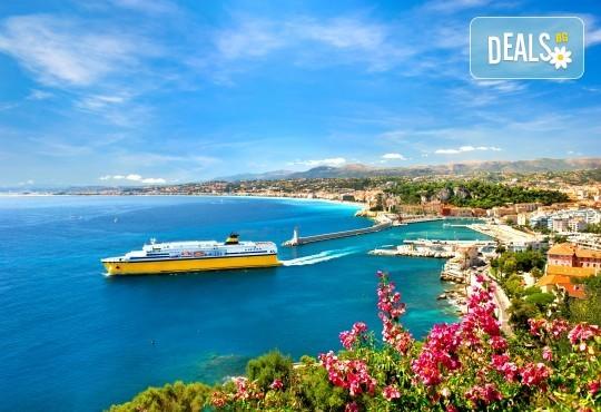 Самолетна екскурзия до Ница, Лазурния бряг, Франция, със Z Tour! 3 нощувки със закуски в хотел 3*, самолетен билет, летищни такси, застраховка - Снимка 6