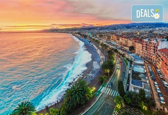 Самолетна екскурзия до Ница, Лазурния бряг, Франция, със Z Tour! 3 нощувки със закуски в хотел 3*, самолетен билет, летищни такси, застраховка - Снимка 2