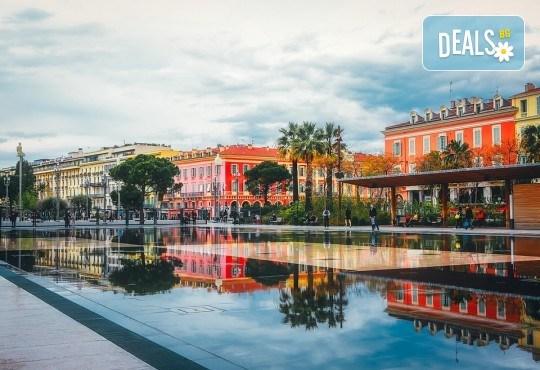 Самолетна екскурзия до Ница, Лазурния бряг, Франция, със Z Tour! 3 нощувки със закуски в хотел 3*, самолетен билет, летищни такси, застраховка - Снимка 1