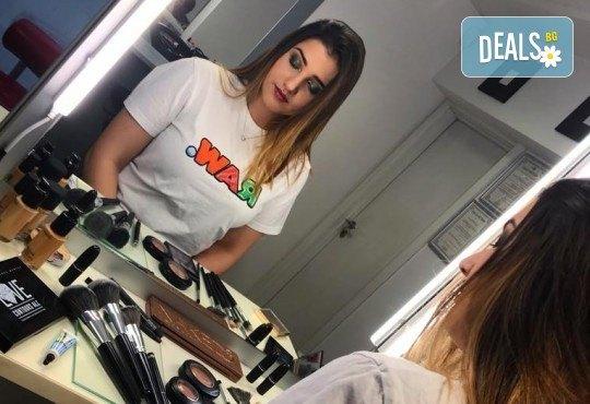 Професионален грим за сватби, официални събития и специални поводи с козметика на MAC, NYX, Inglot и др. от гримьор Елица Толева в Benefit Hair Studio by Tatiana! - Снимка 5