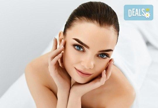Свежа и сияйна кожа с мануално почистване на лице в 6 стъпки в салон за красота V and A Glamour! - Снимка 2