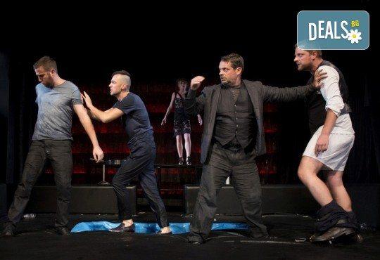 Гледайте спектакъла Пияните на 15-ти октомври (понеделник) в Малък градски театър Зад канала! - Снимка 4