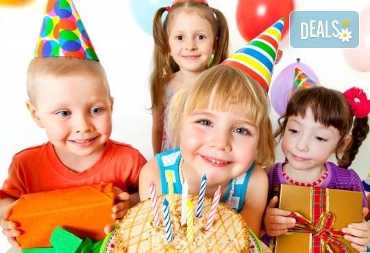 Рожден ден за 10 деца и 10 възрастни в гейминг зала с игри, организатор на игрите, напитки за всички, пица или хапки от FUN TAG! - Снимка 1