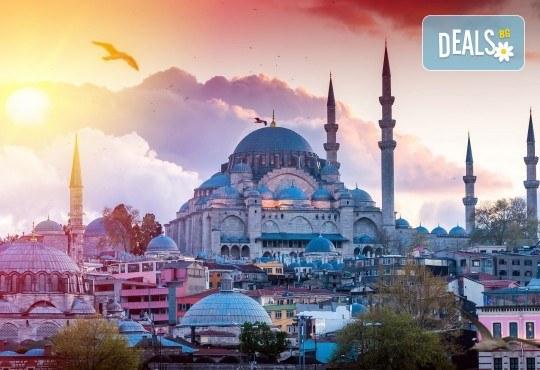 Есенна екскурзия до Истанбул на супер цена! 2 нощувки със закуски, транспорт, посещение на Одрин и Чорлу и водач от Глобул Турс! - Снимка 1