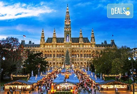 Екскурзия преди Коледа до Виена и Будапеща! 3 нощувки със закуски в хотел 2*/3*, транспорт, водач и възможност за посещение на Залцбург! - Снимка 1