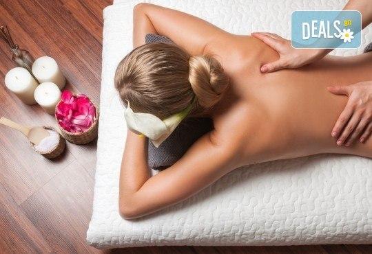 Лечебен болкоуспокояващ масаж на гръб с лечебни гелове, при схващания, дископатии и дискови хернии във Friends - Hair & Beauty Studio - Снимка 2