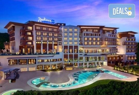 5-звездна Нова година в Истанбул! 3 нощувки със закуски и 2 вечери в Radisson Blu Conference & Airport Hotel 5*, транспорт и посещение на Мол и аквариум Aqua Florya! - Снимка 10