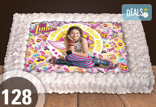 С любима снимка! Голяма детска торта 20, 25 или 30 парчета със снимка на любим герой от Сладкарница Джорджо Джани! - Снимка 14